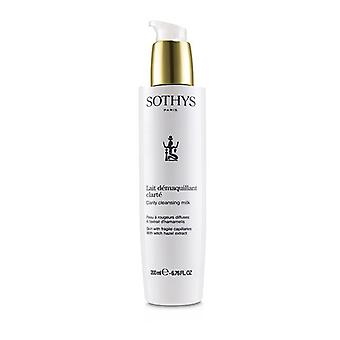 Sothys Clarity Cleansing Milk - For Skin With Fragile Capillaries, With Witch Hazel Extract 200ml/6.76oz