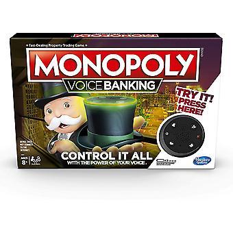 Monopoly Voice Banking Elektroniczna rodzinna gra planszowa