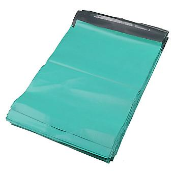 100 x Self Sealing Green Postal Mailing Waterproof Shipping Bags 28x42cm