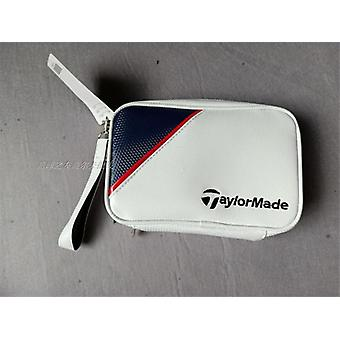 תיק גולף ארנק קטן, ספורט חוצות שני כיסים רוכסן, מפתח סמן כדור