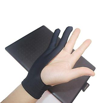 2 Fingers Drawing Glove, Anti-fouling Artist, Graphics, Painting, Writing