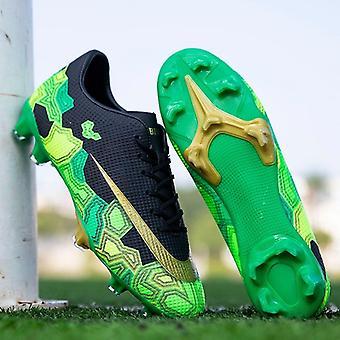 בחוץ נעלי כדורגל - מגפי כדורגל Tf/fg, קרסול גבוה, אימון ספורט
