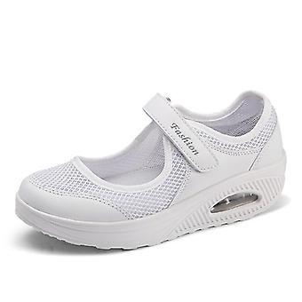 Naiset Rento Kengät, Breathble Vulcanized Casual Sneaker