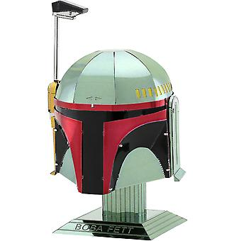 Star Wars Boba Fett Helm Metall Erde Modell Kit