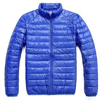 الرجال سترة الشتاء جديد الترا خفيفة بطة أسفل عارضة معطف الشتاء المحمولة زائد