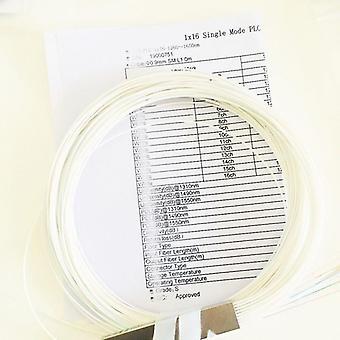 Høj kvalitet Plc Stål rør Ftth Fiber Optic Plc Splitter Blokløs Uden