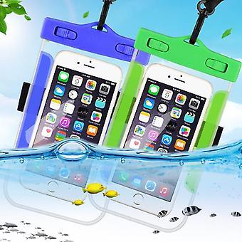 Vedenpitävä matkapuhelinkotelo iphonelle Kirkas Pvc suljettu veden alla
