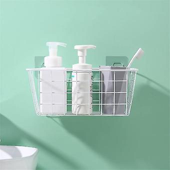 Kylpyhuoneen keittiötarvikkeet, Säilytysorganisaation kori, Suorakaiteen muotoinen laatikkoseinä