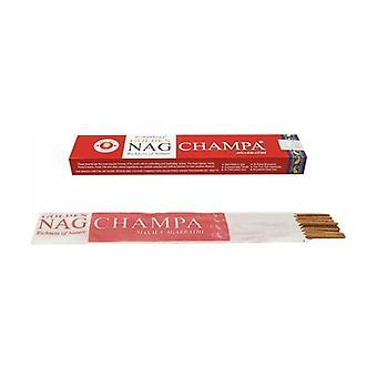 Golden Nag Red Champa Incense 20 units