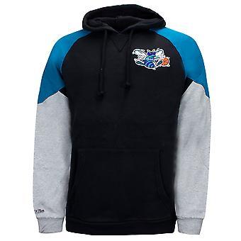 Mitchell & Ness Trading Block Hoodie Charlotte Hornets Colourblock Sweatshirt