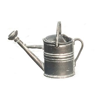 Dolls House Miniature Garden Accessory Galvanised Metal Watering Can
