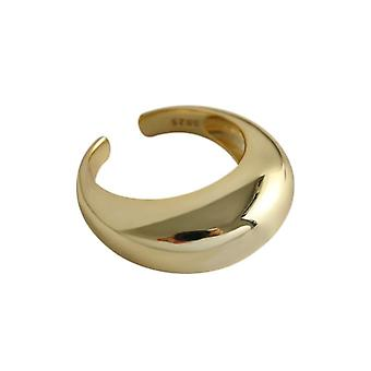 Sterling einfache Ring