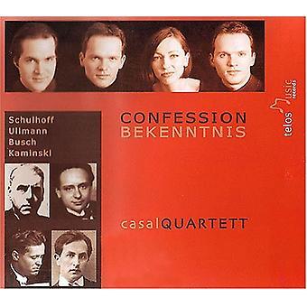 Schulhoff/Ullmann/Busch - Confession / Bekenntnis [CD] USA import