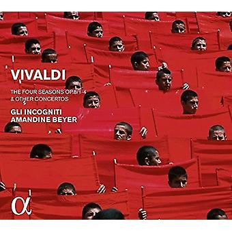 Incognitil, Gil/Beyer, Amandine - Vivaldi: Importación de Estados Unidos cuatro temporadas & otros conciertos Op.8 [CD]