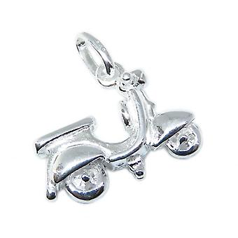 Roller Sterling Silber Charm .925 X 1 Motorroller Scooter Charms - 8757