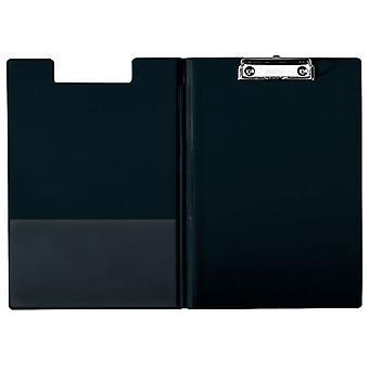 Esselte 56047 A4 Fold Over Clipboard Black
