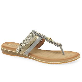 Lunar (GRS) Carlotta Womens Toe Post Sandals