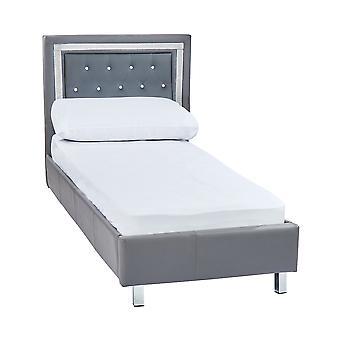 Diamond 3.0 Single Bed Grey