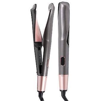 Professional Hair Straightener, Curling Iron, Tourmaline Ceramic Twisted, Flat