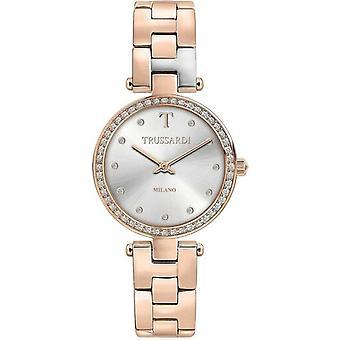 Trussardi T-sparkling Milano Diamond Accents Quartz R2453139504 Women's Watch