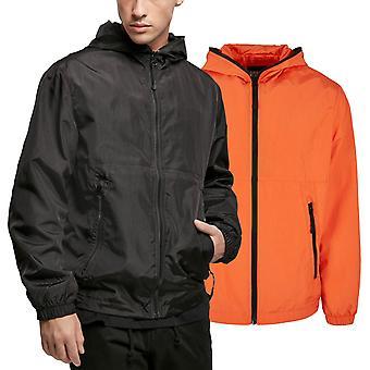 Urban Classics - Full Zip Nylon Crepe Windbreaker Jacket