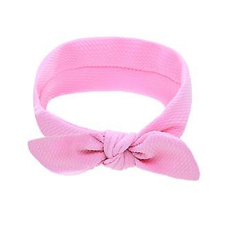 Newborn Headband Cotton Solid Bow For, Turban Headband Kids Accessoire