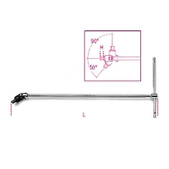 Beta 009530170 953 7 7mm T-håndtag skruenøgler med drejeligt sekskant mandlige ender