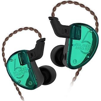 KZ Audio KZ AS06 - Triple Driver In-ear Earbuds - Cyan