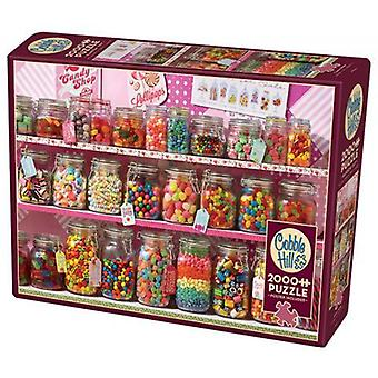 Cobble hill puzzle - candy store - 2000 pc
