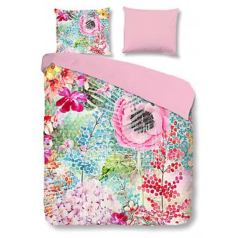 cover Lizzy 200 x 220 cm microfiber pink
