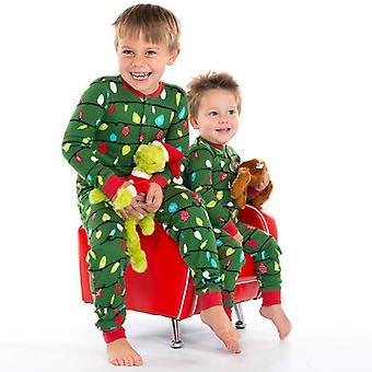 Family Matching Dad Mom Kid Christmas Outfits Pajamas Sets