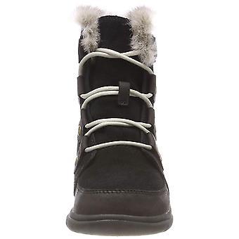 Sorel Womens Explorer Joan Suede Scarpins meados de bezerro frio botas de tempo