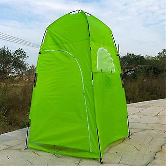 Summer Private Shower Tent For Outdoor Camping Hiking Fishing House(green)