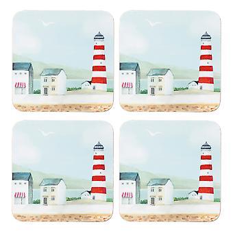 English Tableware Co. Coast Set of 4 Coasters