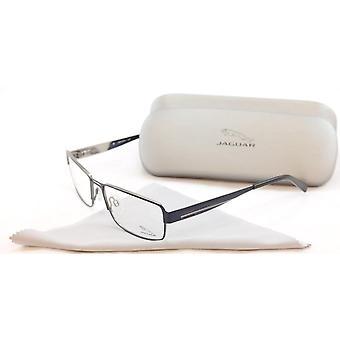 جاكوار النظارات الإطار 33058-819 المعادن الزرقاء عالية الجودة ألمانيا أدلى 57-17-140