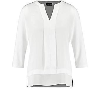 Taifun T-Shirt 3/4 Arm, Dirty White, 46 Woman
