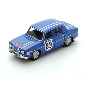 Renault 8 Gordini (Monte Carlo rally 1969) harpiks modell bil