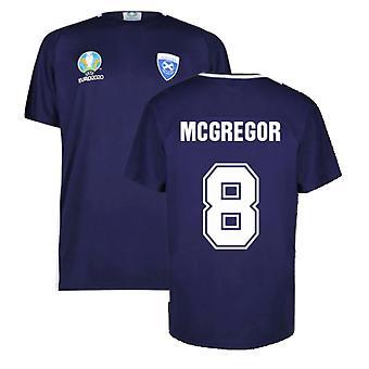 Scotland 2021 Polyester T-Shirt (Navy) (McGregor 8)
