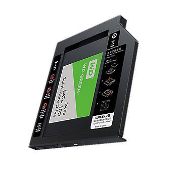 """Hdd Caddy 9.5mm Sata к Usb 3.0 для 2.5 """" внешние жесткие диски для ноутбука"""