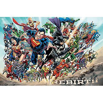 DC universo Renacimiento Maxi Poster