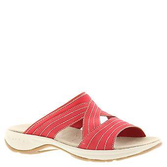 Easy Spirit Womens Emorie Fabric Open Toe Casual Slide Sandals