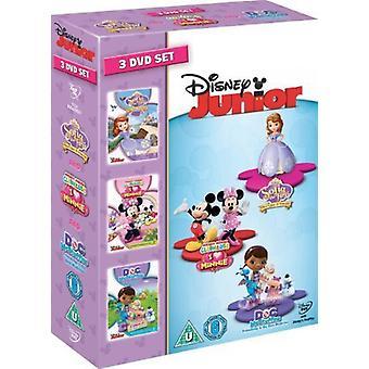 Disney Junior: Sammlung 3 DVD Set