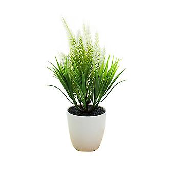 Homemiyn Simulation Green Plants Potted Plants Artificial Corn Ear Potted Plants Indoor Green Plants Decoration