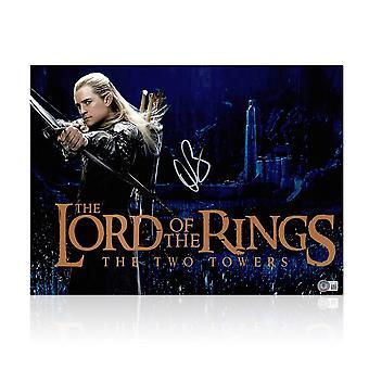Orlando Bloom firmó la foto de El Señor de los Anillos