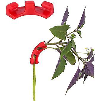 30 Pack 90 Grad Pflanzenbieger Lst Clips Pflanzenhalter Gartengerät für wenig Stress