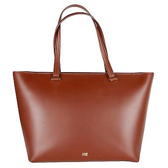 Темно-коричневая сумка для покупок