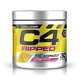 C4 Ripped, Raspberry Lemonade - 171 grams