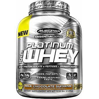 Platinum 100% Whey, Milk Chocolate Supreme - 2280 grams