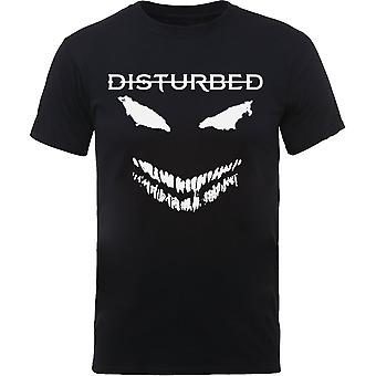 Disturbed - Scary Face Candle Unisex X-Large T-Shirt - Schwarz