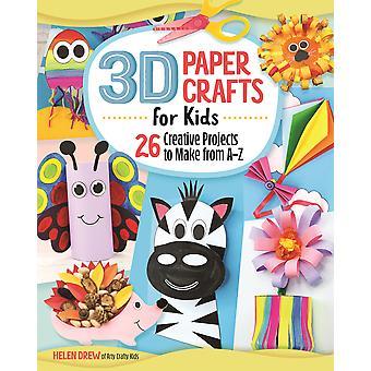 3D Paper Crafts for Kids